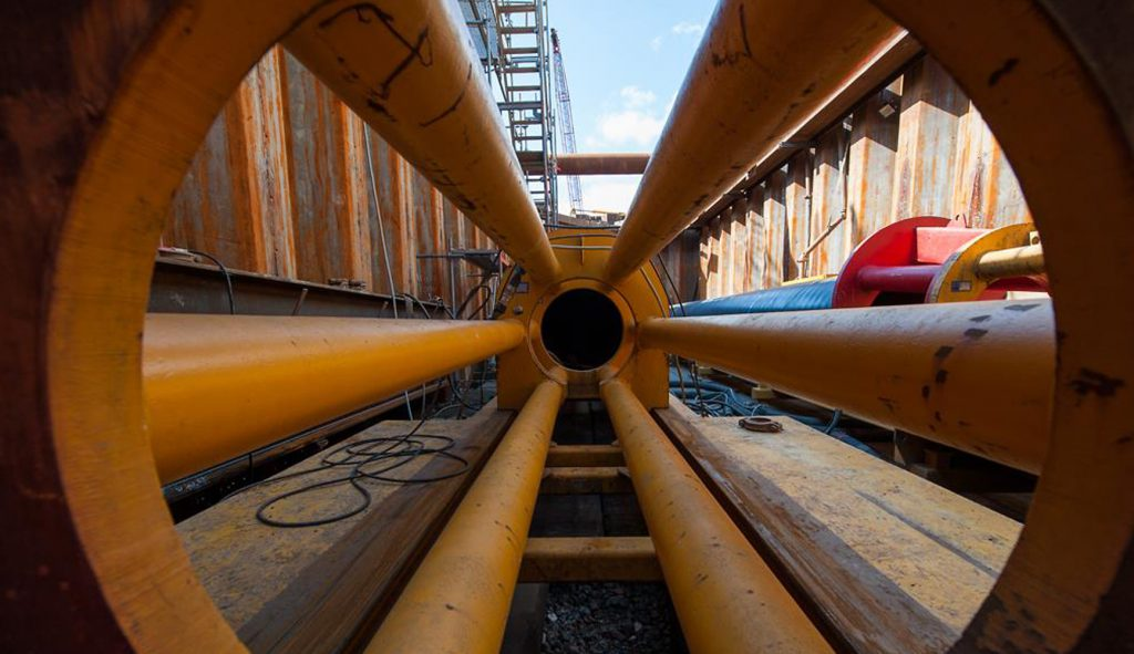 Rotterdam duct of Noord LOT 4